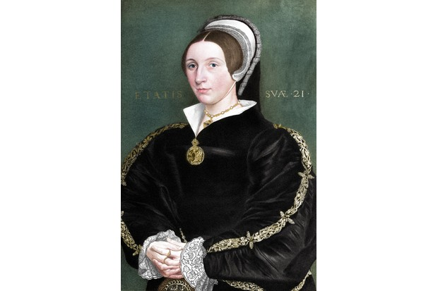 "The household in which Catherine Howard drew up was likened by David Starkey to ""a slackly run boarding school"". (Photo by The Print Collector/Getty Images)"