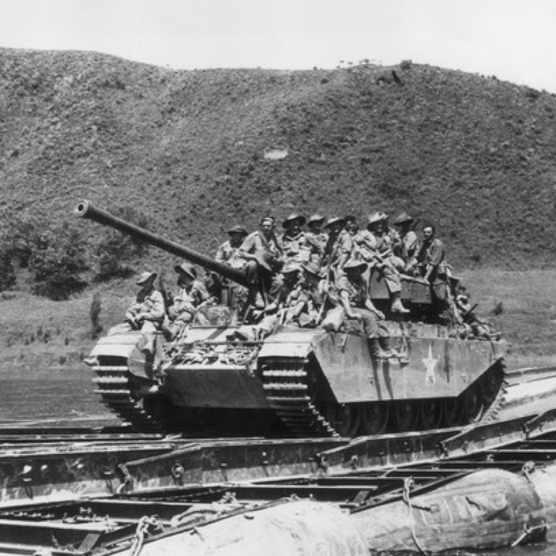 Troops in Korea, c1951. (Photo by Keystone/Getty Images)