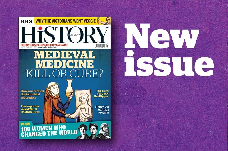 BBC History Magazine September 2018 issue