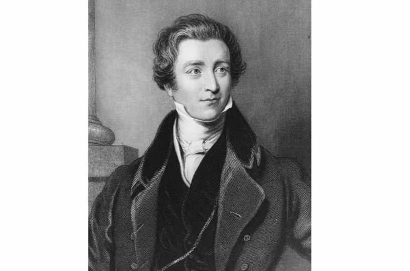 """A portrait of British Conservative prime minister Sir Robert Peel (1788-1850), c1845. The Victorian prime minister, who is best known for repealing the Corn Laws in 1846, has been likened by the Tory MP Jacob Rees-Mogg to the sitting prime minister, Theresa May. May risks """"splitting the Conservative party like Sir Robert Peel"""" if she fails to deliver a clean break from the European Union, Rees-Mogg has warned. (Photo by Fox Photos/Hulton Archive/Getty Images)"""