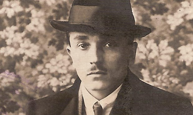 August Friedrich Kellner, pictured in 1923. (Photo from Kellner family archive)