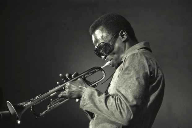 Jazz trumpeter and composer Miles Davis, shown here in 1969, was central to the story of jazz. (Photo by Jack Vartoogian/Getty Images)