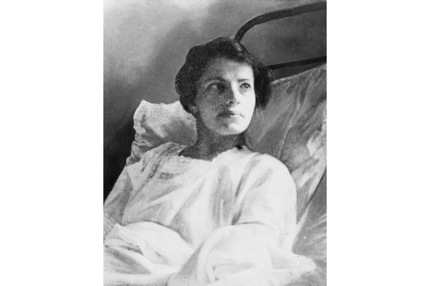 Anna Anderson (1896–1984), pictured here in hospital c1926, was among a number of individuals who purported to be Grand Duchess Anastasia, the youngest daughter of Tsar Nicholas.. (Photo by Hulton Archive/Getty Images)