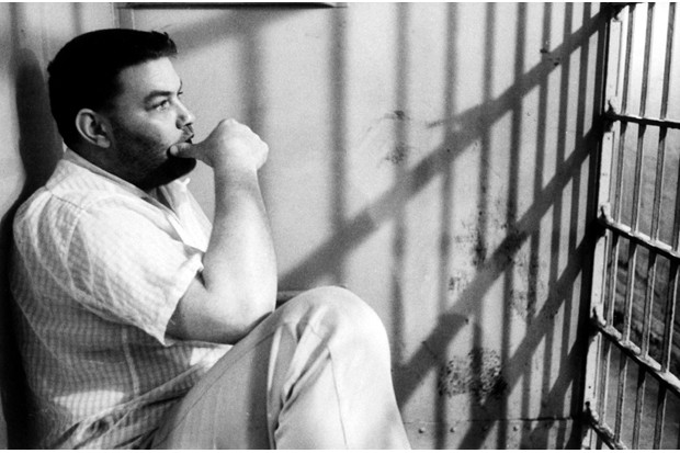 Master imposter Ferdinand Demara (1921–82) pictured in jail. (Photo by Hank Walker/The LIFE Picture Collection/Getty Images)
