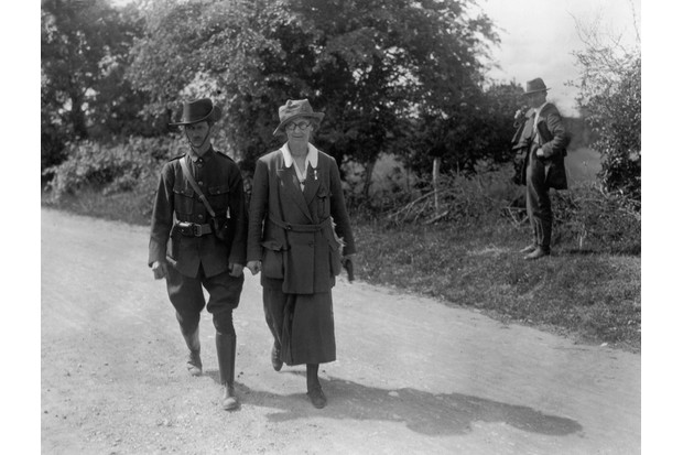 Irish politician and nationalist Countess Constance Markievicz, c1922. (Photo by Walshe/Topical Press Agency/Hulton Archive/Getty Images)