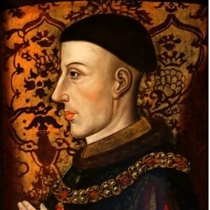 Portrait of King Henry V. (Photo by Universal History Archive/UIG via Getty Images)