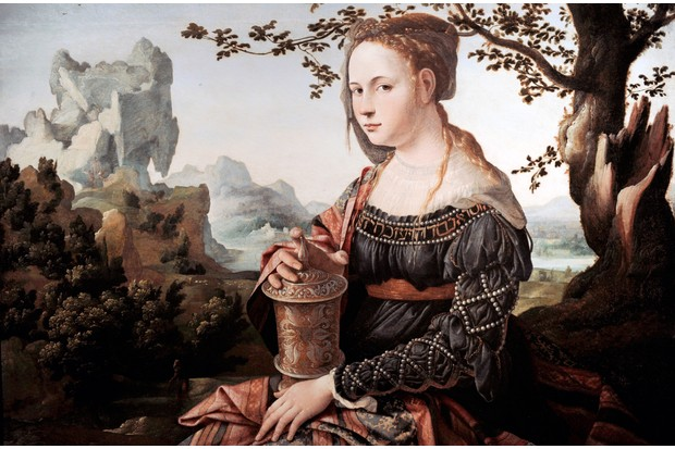 Mary Magdalene by Jan van Scorel (1495–1562), c1530. From the Rijksmuseum, Amsterdam, Holland. (Photo by GraphicaArtis/Getty Images)