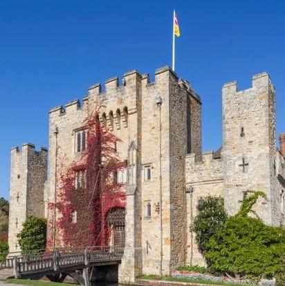 Hever Castle. (Photo by Prisma Bildagentur/UIG via Getty Images)