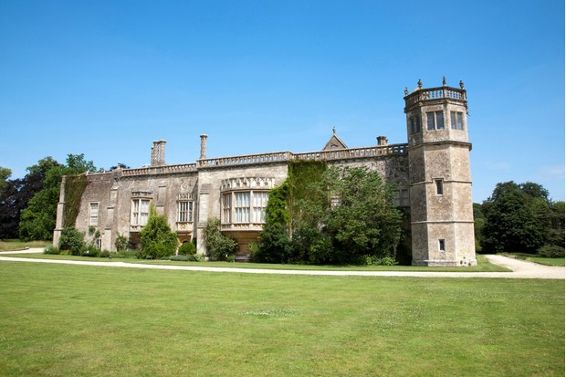 Lacock Abbey in Wiltshire, the real-life Wolf Hall. (Photo by Claudio Beduschi/AGF/UIG via Getty Images)