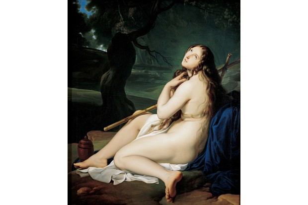 The repentant Mary Magdalene, found in the Collection of Labirinto di Franco Maria Ricci. (Photo by Fine Art Images/Heritage Images/Getty Images)