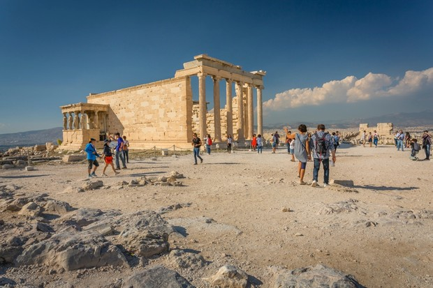A degree in history might offer the chance to travel abroad and, if you're lucky, destinations could even include Athens (pictured), Berlin, Brussels, Milan, Paris, Rome and Waterloo. (Image by Getty Images)