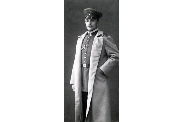 """Kellner, pictured here in 1913, served as an infantry sergeant during the First World War. """"Although he would readily protect his home and country with his life, he saw no sense in a German soldier shedding blood in France because a Serbian killed an Austrian in Bosnia,"""" writes his grandson Robert Scott Kellner. (Photo from Kellner family archive)"""