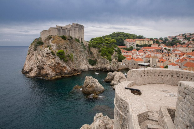 Fort Lovrijenac in Dubrovnik Old Town, Croatia, which features as King's Landing in 'Game of Thrones'. (Photo by John Dambik/Alamy Stock Photo)