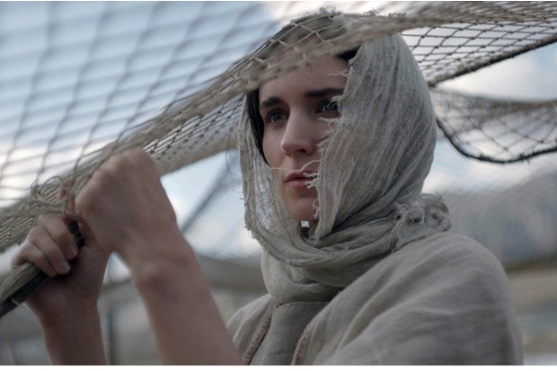Rooney Mara as Mary Magdalene in the 2018 film 'Mary Magdalene'. (Photo by Lifestyle pictures/Alamy Stock Photo)