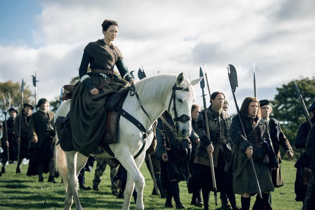 The time-travel drama 'Outlander' has brought tourists flocking to Scotland's castles. (Photo by Sony Pictures Television)