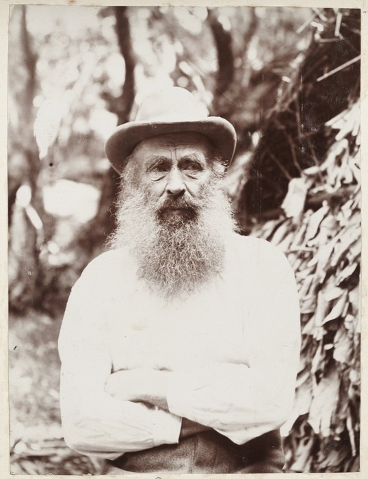 Thomas Bell, who with his wife Frederica and children, moved to the remote Pacific island of Raoul in the 19th century. (Photo courtesy of Lydia Syson/Mr Peacock's Possessions)