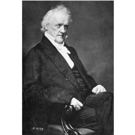 James Buchanan, the 15th president of the United States. Undated photograph. (Bettmann/Getty Images)