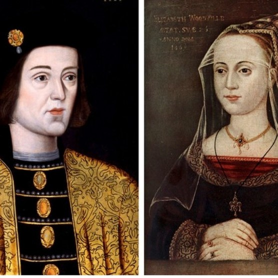 During the Wars of the Roses, Elizabeth Woodville allegedly attracted Edward IV for the first time by waiting for him under an oak tree in Whittlebury Forest. (Photos by VCG Wilson/Corbis via Getty Images and The Print Collector/Print Collector/Getty Images)