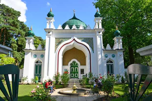 The Shah Jahan Mosque was saved from developers and renovated from 1913 by Kashmiri lawyer Khwaja Kamal-ud-Din, who also founded the Woking Muslim Mission. (Photo by Alamy)