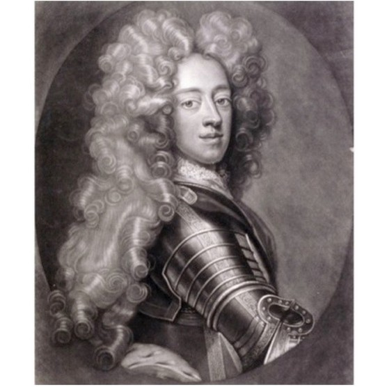 A portrait of George II in 1706. (Photo by Guildhall Library & Art Gallery/Heritage Images/Getty Images)