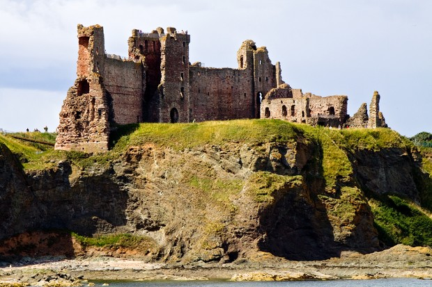 View of Tantallon Castle. (Photo by Getty Images)