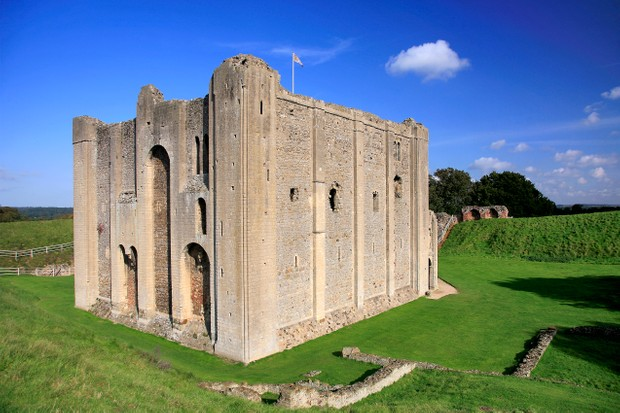 "Castle Rising, in Norwich, has ""one of the most magnificent keeps in the entire British Isles"", says Michael Smith. (Photo by Getty Images)"