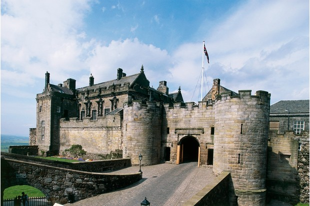 Stirling Castle is one of the largest and most famous castles in Scotland. (Photo by Getty Images)