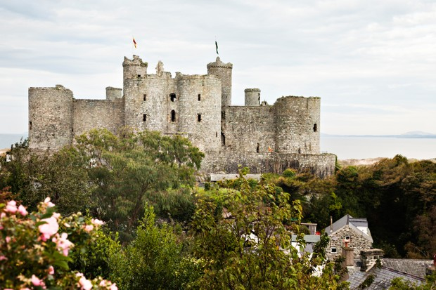 """UNESCO describes Harlech Castle as """"one of the finest examples of late 13th-century and early 14th-century military architecture in Europe"""". (Photo by Getty Images)"""