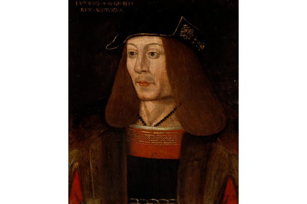 A portrait of James IV of Scotland. (Photo by National Galleries Of Scotland/Getty Images)