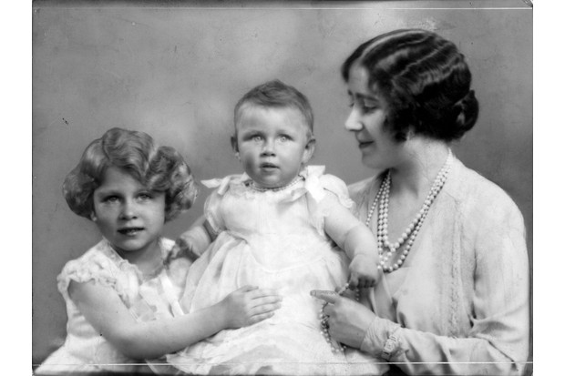 c1930: Queen Elizabeth, wife of King George VI, with her daughters princesses Elizabeth (left) and Margaret Rose. (Photo by Hulton Archive/Getty Images)