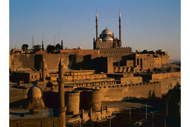 The Saladin Citadel, topped by the Mosque of Muhammad Ali, was the seat of Arab power in Cairo – and Egypt – for centuries. (Photo by Getty Images)