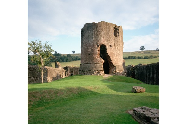 Skenfrith Castle was once a key administrative centre. (Photo by Getty Images)