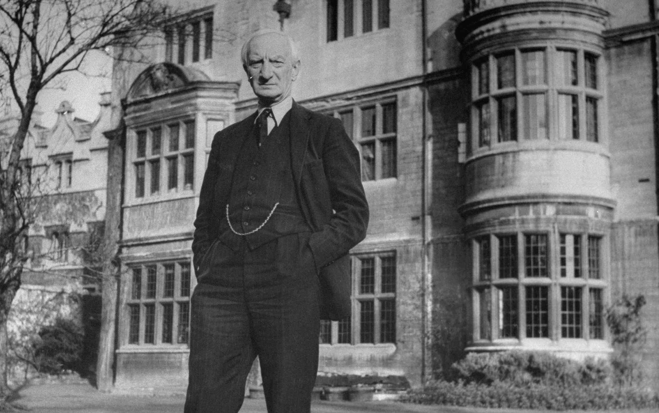 "William Beveridge was determined to fight the five ""giant evils"" of ""want, disease, ignorance, squalor and idleness."" (Photo by Hans Wild/The LIFE Picture Collection/Getty Images)"