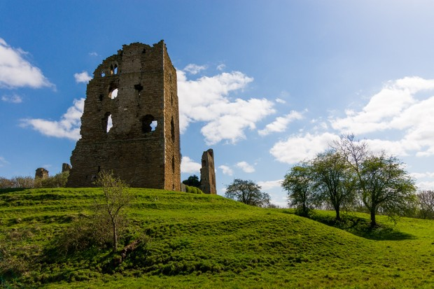 """""""Sheriff Hutton has not survived the ravages of time so well,"""" says Michael Smith. (Photo by Kevin Pawsey via Getty Images)"""