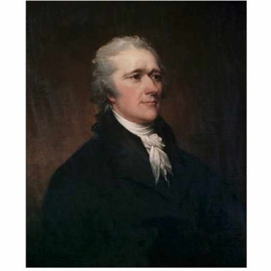 Alexander Hamilton by John Trumbull (Photo by Francis G. Mayer/Corbis/VCG via Getty Images)