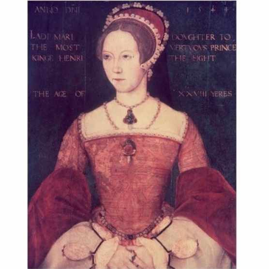 A portrait of Mary I. (Photo by Getty Images)