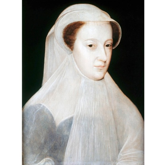 A portrait of Mary, Queen of Scots. (Photo by VCG Wilson/Corbis via Getty Images)