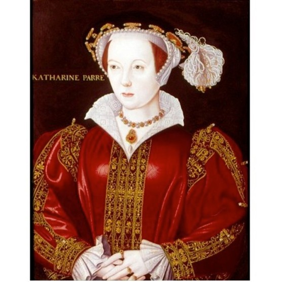 An anonymous portrait of Katherine Parr, c1545. (Photo by Universal History Archive/Getty Images)