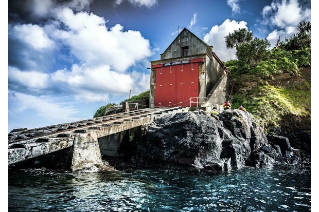 The Old Lifeboat Station at Penlee Point, Mousehole. (Photo by Chris Yacoubian)