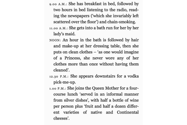 An extract from 'Ma'am Darling: 99 Glimpses of Princess Margaret' by journalist Craig Brown.