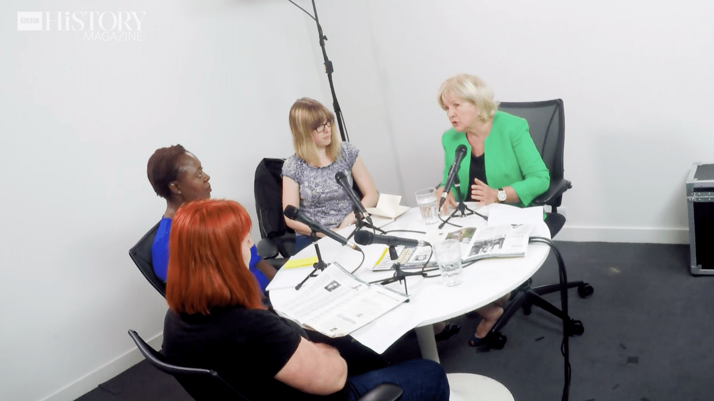 Historians Joanne Paul, Olivette Otele and June Purvis dissect the results of our recent poll: 100 women who changed the world.