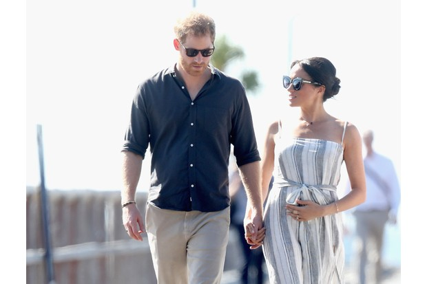 Prince Harry, Duke of Sussex and Meghan, Duchess of Sussex, photographed during their 2018 tour of Australia, Fiji, Tonga and New Zealand. (Photo by Chris Jackson/Getty Images)