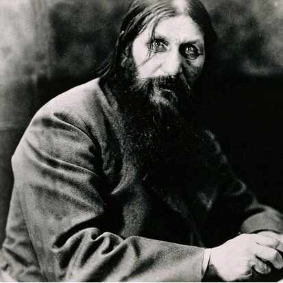 Grigorij Efimovic Rasputin (Pokrovskoe, 1869-Saint Petersburg, 1916), Russian monk and mystic. (Getty Images)