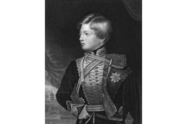 At the time of his birth in 1819, Prince George Frederick Alexander Charles Ernest Augustus of Cumberland was seventh in line to the British throne. (Photo by Kean Collection/Getty Images)