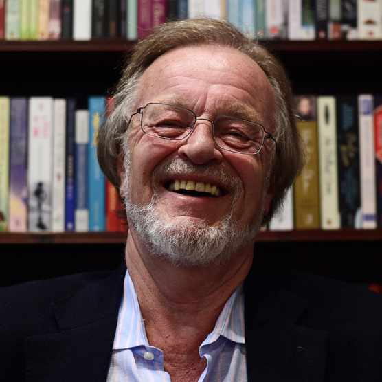 British author Bernard Cornwell, author of 'The Last Kingdom' and 'Sharpe' series. (Photo by Daniel Sorabji via Getty Images)