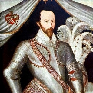 Elizabethan adventurer, courtier, navigator and historian Sir Walter Raleigh (c. 1552-1618). (Photo by Time Life Pictures/Mansell/The LIFE Picture Collection/Getty Images)