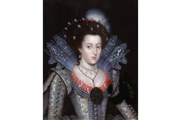 Elizabeth Stuart, once Queen of Bohemia, c1613. Elizabeth was considered to be a Protestant heroine, says Carolyn Harris. (Photo by VCG Wilson/Corbis via Getty Images)