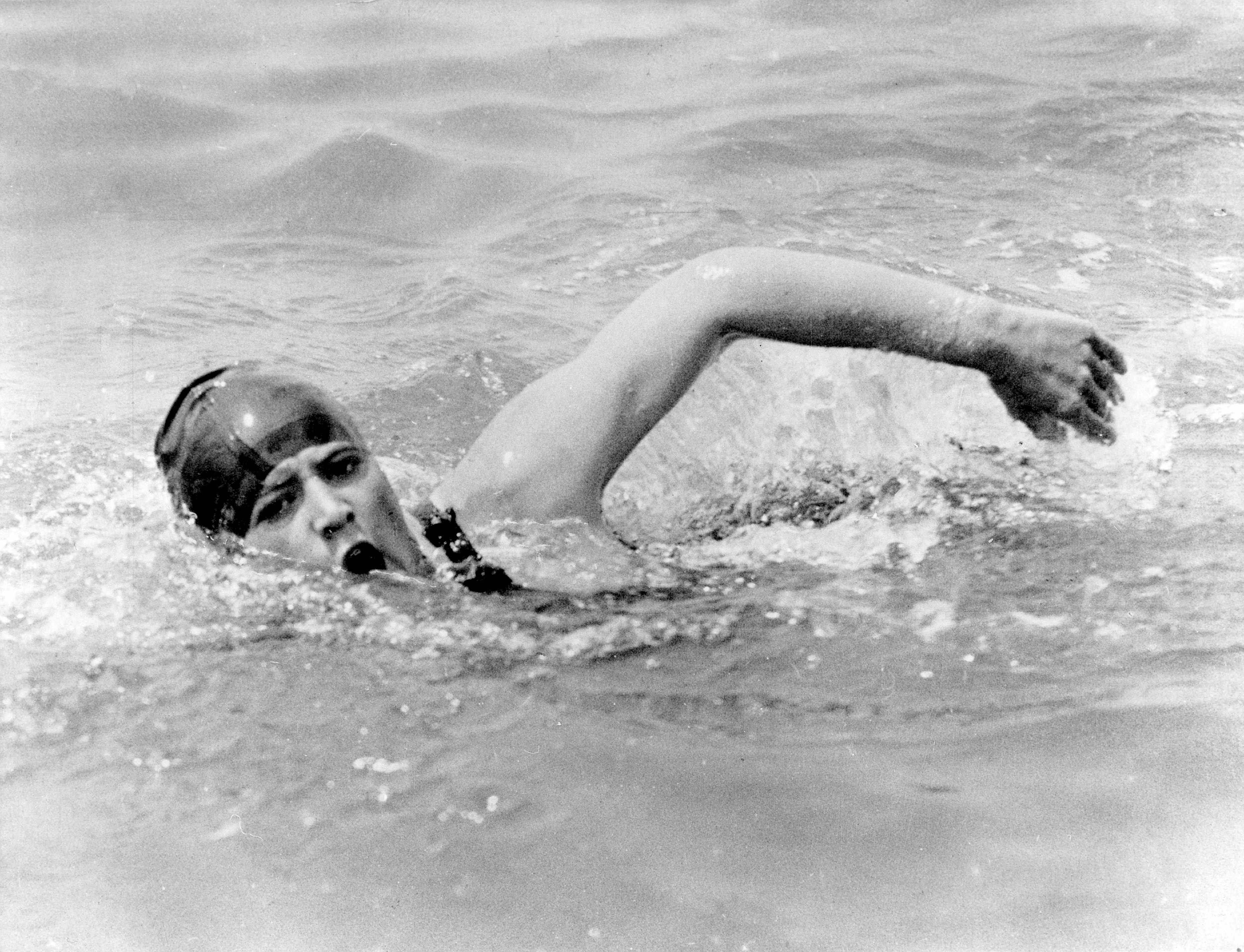 In 1926, 19-year-old New Yorker Gertrude Ederle made history by becoming the first woman to swim the English Channel – and in a faster time than the five men who had already achieved the feat. (Photo by ullstein bild/ullstein bild via Getty Images)