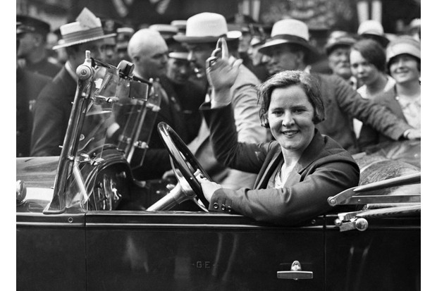When swimmer Gertrude Ederle announced she was going to attempt to swim the English Channel, she was contracted to write an exclusive weekly column for the New York Daily News. (Photo by © Hulton-Deutsch Collection/CORBIS/Corbis via Getty Images)