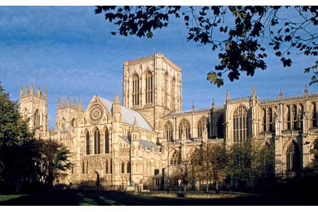The exterior of York Minster in York, England. (Photo by Andrew Holt/Getty Images)